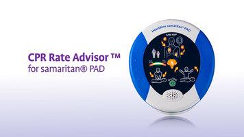HeartSine SAM 450P CPR Rate Advisor Video