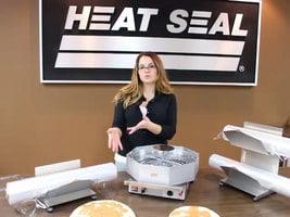 Heat Seal Pizza Capper