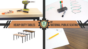 National Public Seating: Heavy Duty Tables