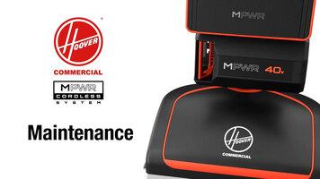 Upright Maintenance Video: MPWR™ 40V Cordless Upright