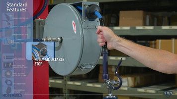 T&S Complete Offering of Hose Reels