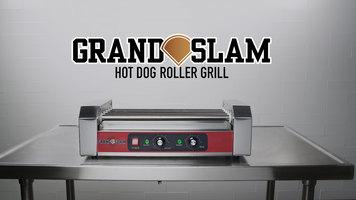 Grand Slam Hot Dog Roller Grill