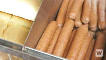 Avantco Hot Dog Steamers