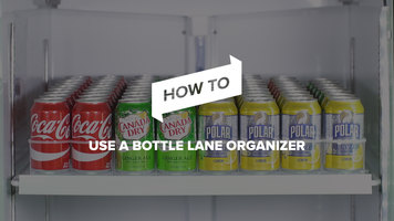 How to Use a Bottle Lane Organizer