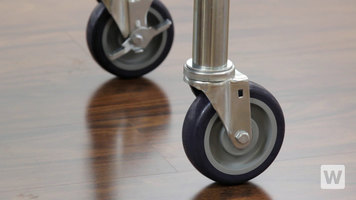 How to Install Casters to a Work Table