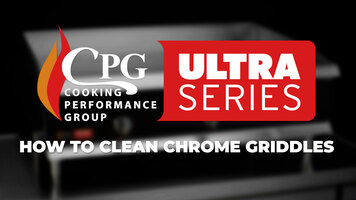 How to Clean Chrome Griddles
