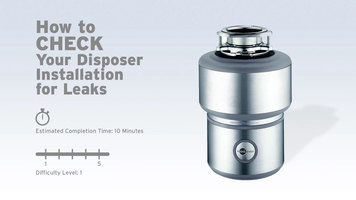 InSinkErator Garbage Disposals: How to Check for Leaks