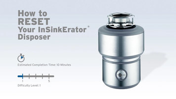 InSinkErator Garbage Disposals: How to Reset a Disposer