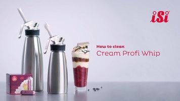 iSi Cream Profi Whip: How to Clean
