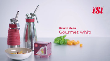 isi Gourmet Whip: How to Clean