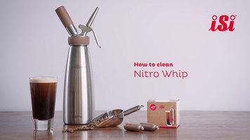 iSi Nitro Whip: How to Clean