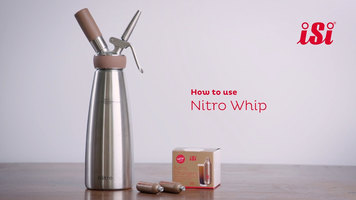 iSi Nitro Whip: How to Use