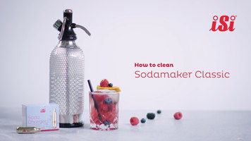 iSi Classic SodaMaker: How to Clean