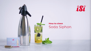 iSi Soda Siphon: How to Clean