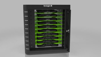 Kensington Universal Tablet Charge and Sync Cabinet