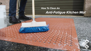 How to Clean an Anti-Fatigue Kitchen Mat