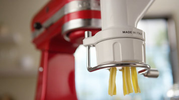 How to Use a KitchenAid Gourmet Pasta Attachment