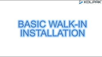 Kolpak: Basic Walk-In Installation