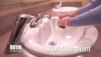 Kutol EZ Foam Chrome Counter Mount Soap Dispenser