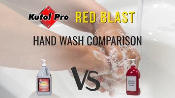 Comparing Heavy-Duty Hand Cleaners: Kutol Pro Red Blast Beats Leading Brand