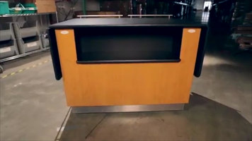 Lakeside Breakout Dining Station