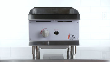 CPG Lava Rock Charbroiler