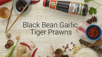 Lee Kum Kee's Banging Black Bean Garlic Tiger Prawns