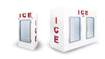 Leer Indoor Ice Merchandiser