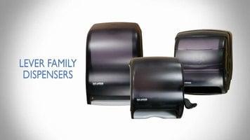 San Jamar Lever Towel Dispensers