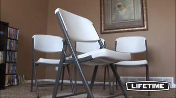 Features of Lifetime Contoured Folding Chairs