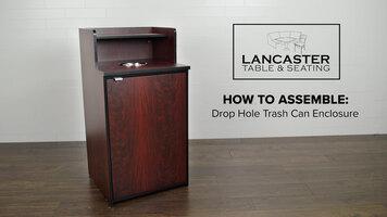 How to Assemble a LT&S Drop Hole Trash Can Enclosure