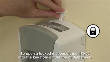 GOJO® LTX-12 Touchless Soap Dispenser: Lock System