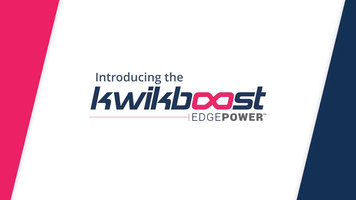 Luxor KwikBoost EdgePower Desktop Charging Station Introduction