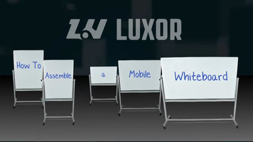 Luxor Mobile Whiteboard Assembly