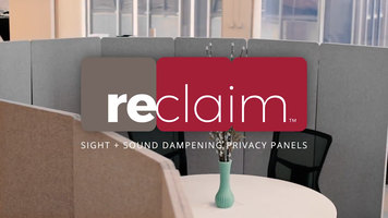 Luxor Reclaim Sight and Sound Privacy Panels