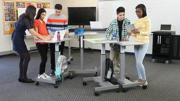 Luxor Student Standing Desk