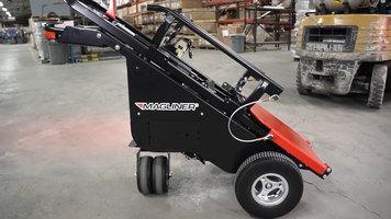 Magliner Motorized Dewar Cart Training