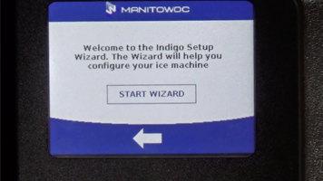 Manitowoc Indigo NXT: Setup Wizard