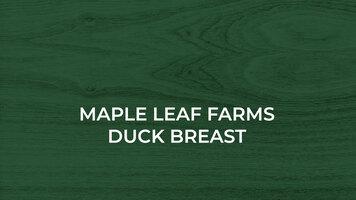 Maple Leaf Farms: Duck Breast