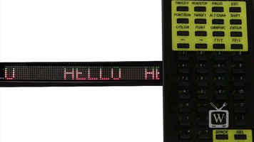 Pro-Lite TruColor II Scrolling Color LED Sign
