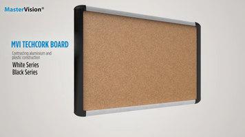 MasterVision MVI TechCork Board