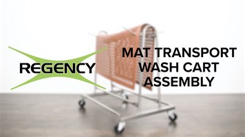 Regency: Mat Transport and Wash Cart Assembly