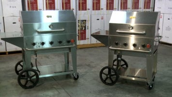 Crown Verity Outdoor Portable Charbroiler