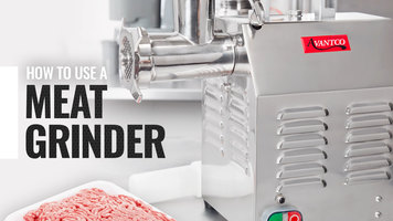 How to Use an Avantco Meat Grinder