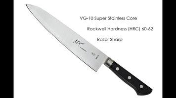 Mercer MX3 Knives