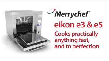 Merrychef eikon e3 and e5 Combination Ovens