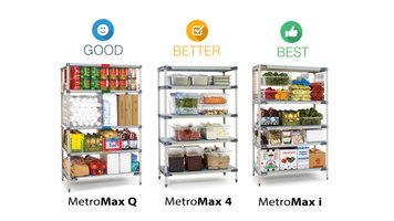 Metro MetroMax Shelving: Good, Better, Best