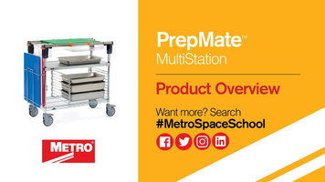 Metro PrepMate MultiStation: Product Overview
