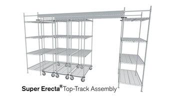 Metro Super Erecta Shelving Top Track Assembly