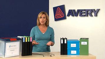 Avery Mini Organization Products